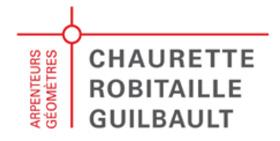 Chaurette Robitaille Guilbault Arpenteurs Géomètres